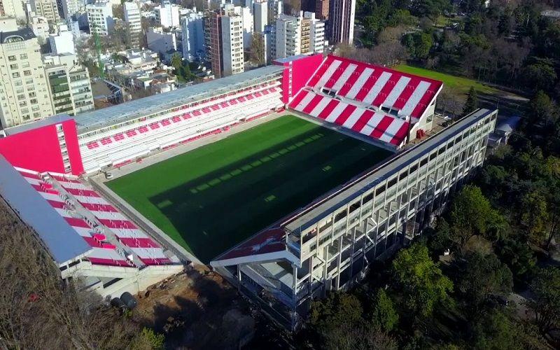 El nuevo estadio Estudiantes de La Plata, llamado Estadio Jorge Luis Hirschi