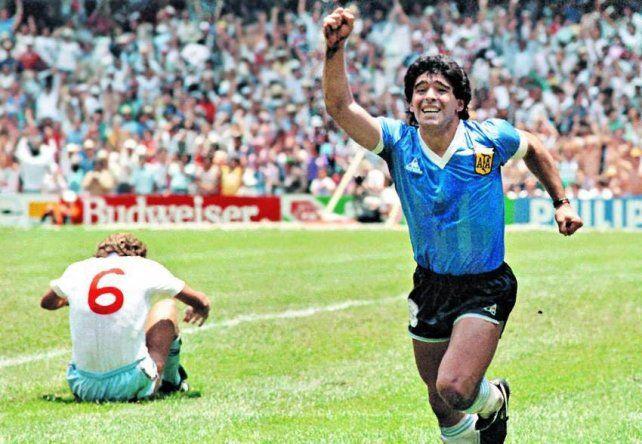 mejores jugadas de Maradona