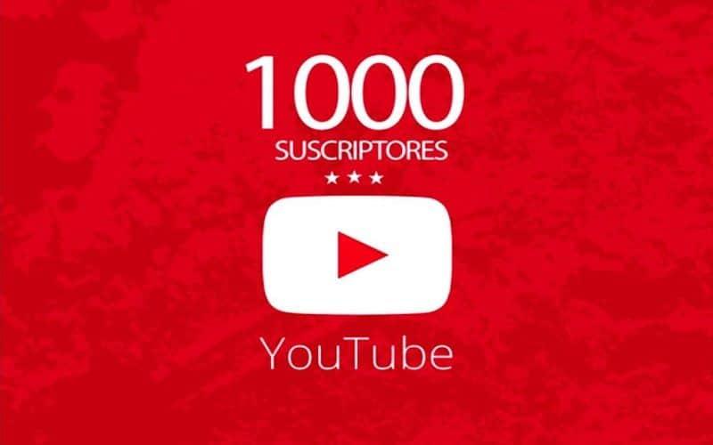 Como tener 1000 suscriptores en Youtube