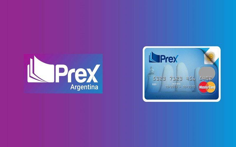 Tarjeta prepaga Prex Argentina
