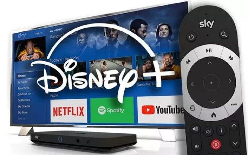 Cómo ver Netflix y Disney+ en Sky Q