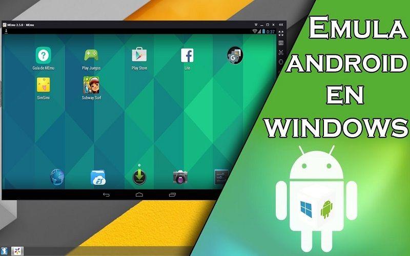 Descargar emulador de Android