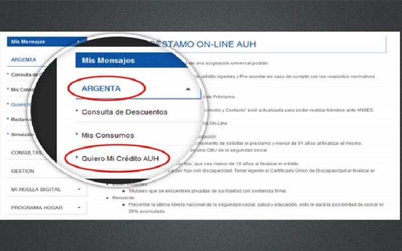 PASO A PASO PARA SACAR EL CRÉDITO ARGENTA ONLINE