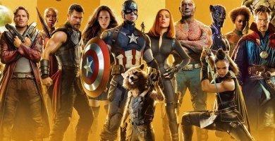Ver todas las películas de Los Vengadores en español