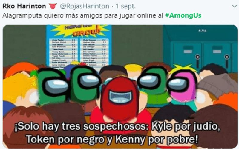 Among us memes impostor