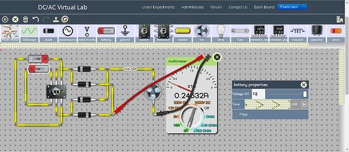DC AC Virtual Lab Dcaclab