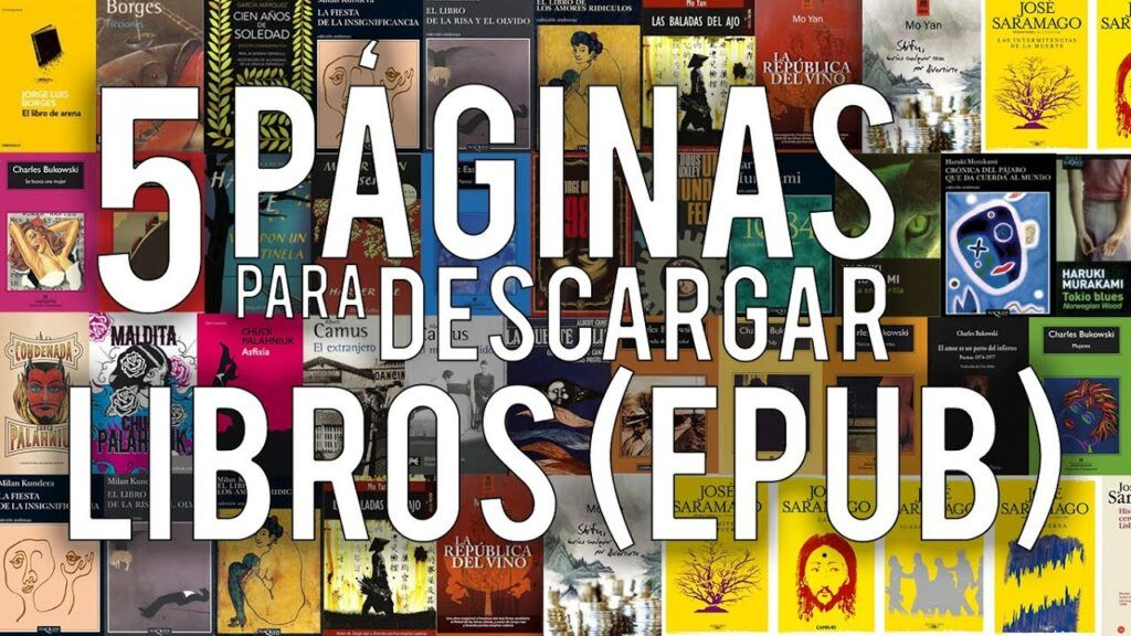 Descargar libros Epub GRATIS en español sin registrarse