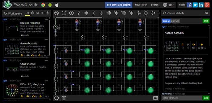 TOP 10 Simulador de circuitos eléctricos ONLINE en ESPAÑOL EveryCircuit