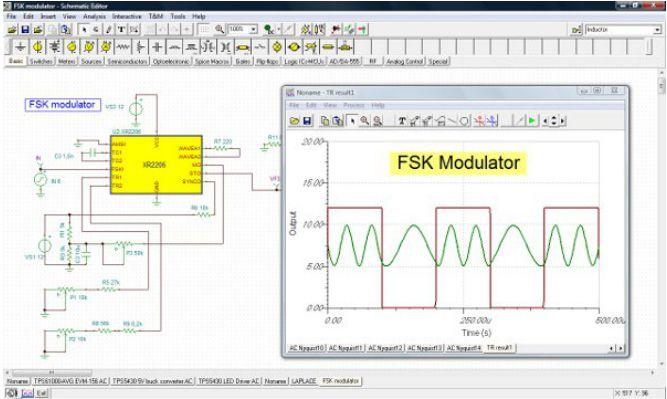 TinaCloud - Simulador de circuitos eléctricos ONLINE