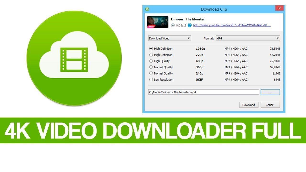 Descargar 4K Video Downloader full GRATIS