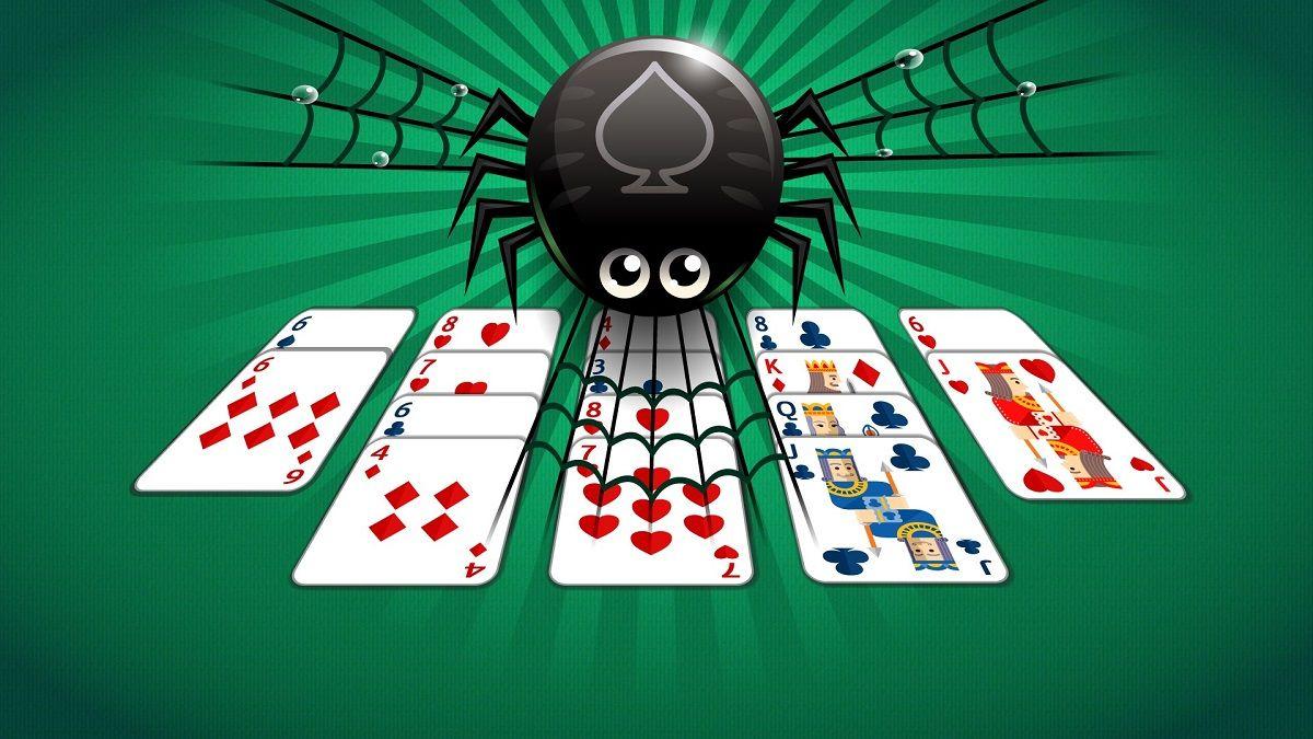 Jugar al solitario spider 2 palos y 4 palos