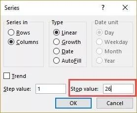 Specify-the-Stop-Value-in-Fill-Series