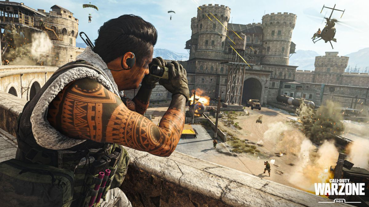 Pack de Texturas de Call of Duty Warzone