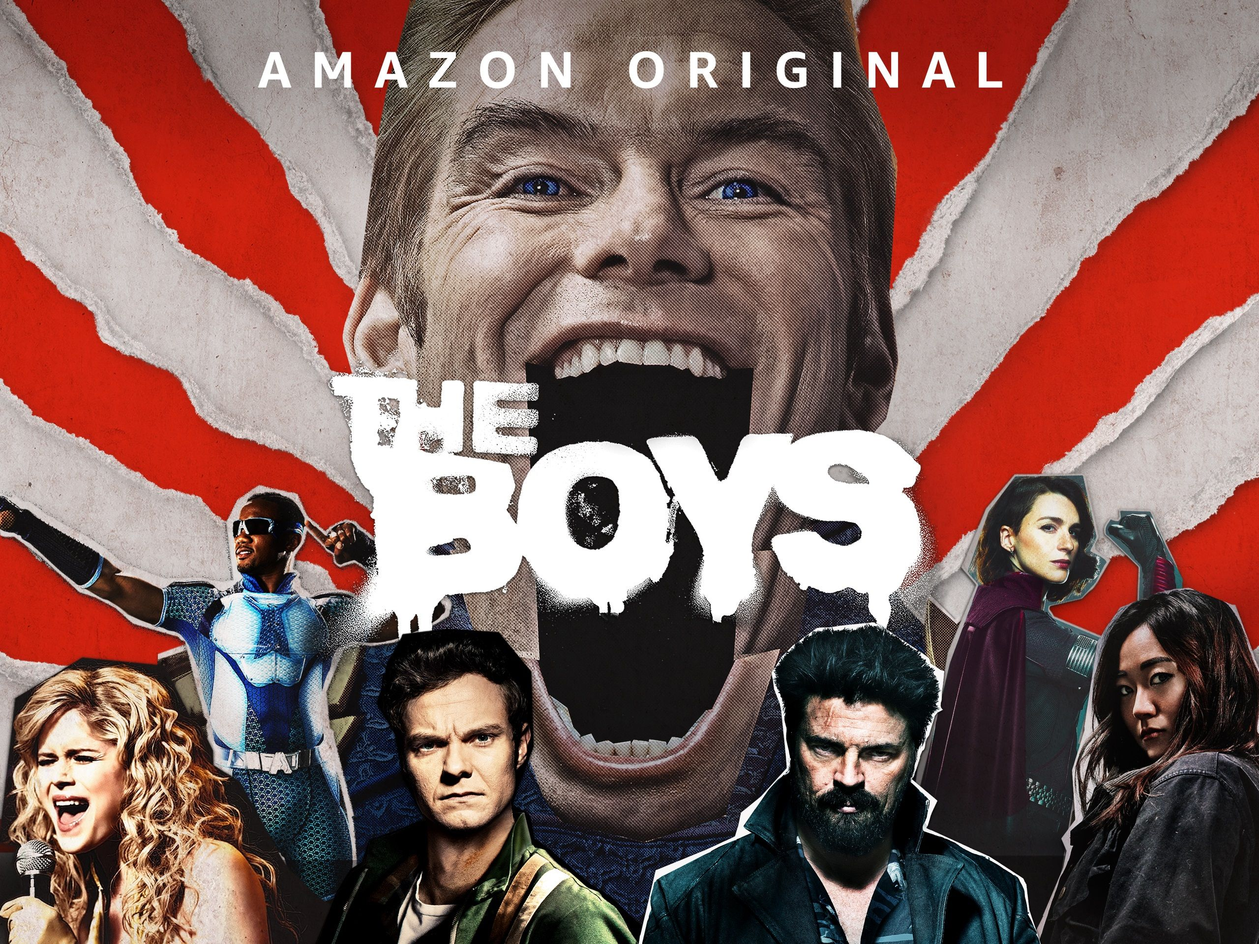 The Boys ONLINE Ver temporada 1 temporada 2 GRATIS
