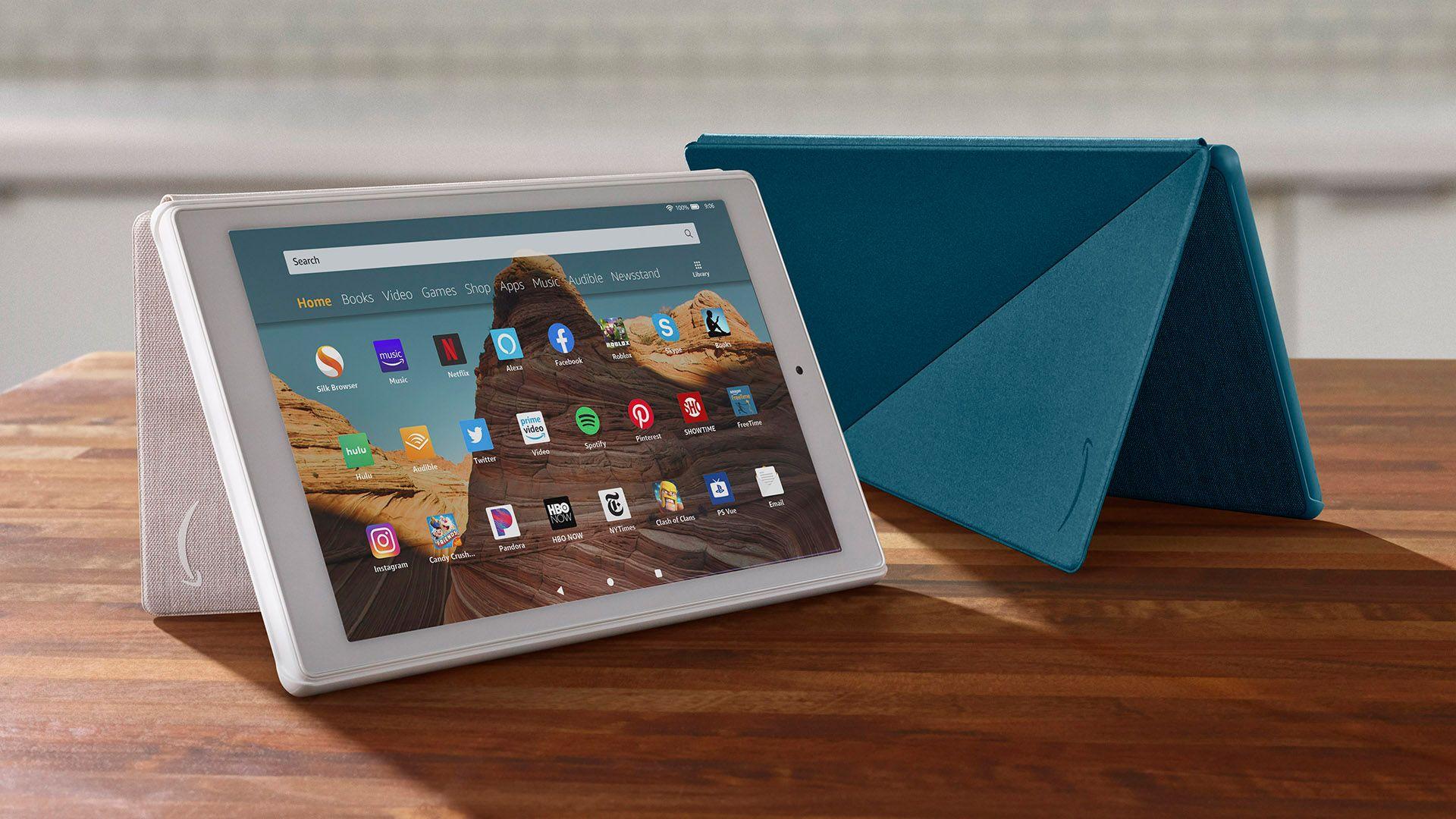 Cómo tomar una captura de pantalla con la tablet Amazon Fire 10