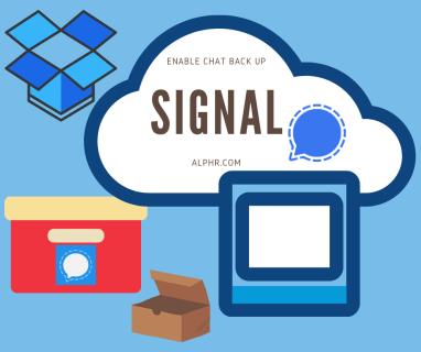 Mensajes de señal: ¿dónde se almacenan los mensajes?